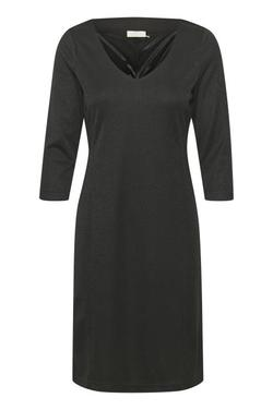 KAsunn Lurex Dress Svart - Kaffe