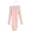 Ull body fra wheat, wool rib Rosa - Wheat