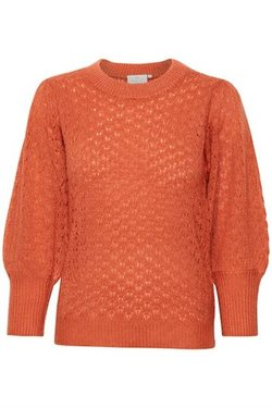 Kamaddy pullover 3/4 Dull orange - Kaffe