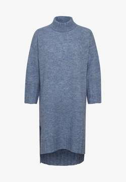 Kawelona knit dress Coastal blue melange - Kaffe