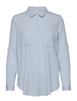 Karegina shirt BS  Angel blue - Kaffe