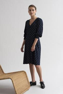 Kabrianna dress Marine - Kaffe