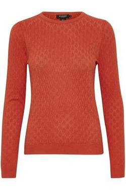 Ziga Menika Pullover oransje - Soaked in Luxury