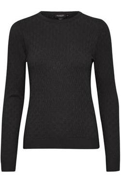 Ziga Menika Pullover sort - Soaked in Luxury