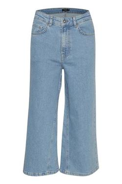 Leela denim culottes denim - Soaked in Luxury