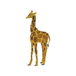 THATS MINE WALLSTICKER  GIRAFFE BABY Gul - Thats Mine