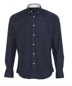 OXFORD PLAIN Navy - Clean cut