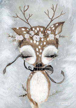 By Christine Hoel - Miniprints - 10x15 cm Fawn - Miniprint - 3 for 2 - By Christine Hoel