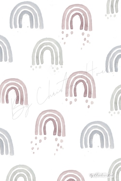 By Christine Hoel - Miniprints - 10x15 cm Rainbows - Miniprints - 3 for 2 - By Christine Hoel