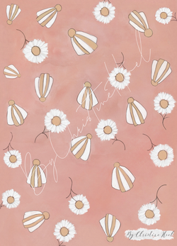 Beach Flowers Beach Flowers - A5 - By Christine Hoel