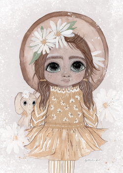 Poppy - Flowergirl - By Christine Hoel Poppy - Flowergirl - A5 - By Christine Hoel