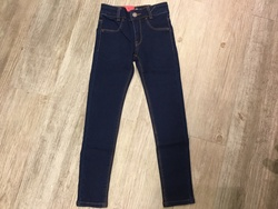 levis bukse Dark blue denim - Levis