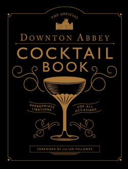 table book  - The Official Downton Abbey Cocktail book    svart/gull - New mags