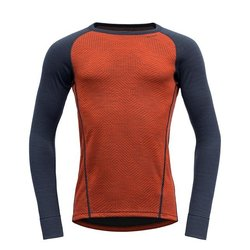 Devold Duo Active Shirt Brick/Ink - Devold