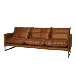 Milan 4-seter sofa Mercey skinn - flere farger Skinn - Trend Collection