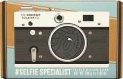 The retroman såpestykke Selfie Specialist, Spearmint & Patchouli - The Somerset Toiletry