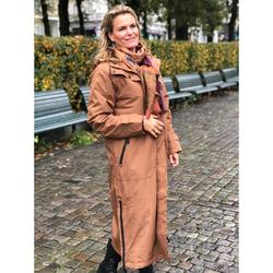 Ilse Jacobsen Raincoat long Walnut Brun - Ilse Jacobsen