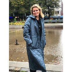 Ilse Jacobsen Padded coat Orion Blue Lyseblå - Ilse Jacobsen