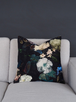 FLOWER PUTETREKK VELOUR PRINT Blomstret - Coming Home