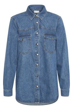 Kakeisha denim shirt  jeansblå - Kaffe Clothing