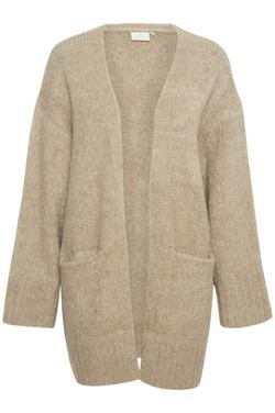 Kajulita knit cardigan Beige - Kaffe Clothing