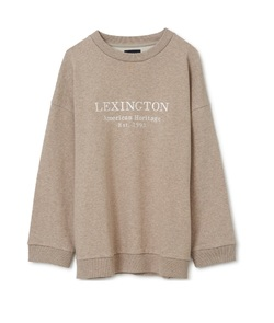 Kibby sweatshirt  Light brown melange - Lexington