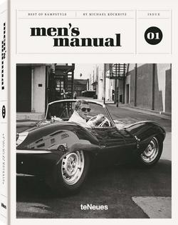 Table book - Men's manual  svart/hvit - New mags
