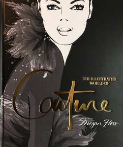 Tablebook -  The Illustrated World of Couture  Svart - New mags