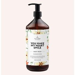 The gift label - bodywash  you make my heart smile - The Gift Label