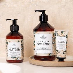 the gift label - hand lotion it's all in your hands - The Gift Label