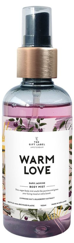 The gift label - body mist  warm love - The Gift Label