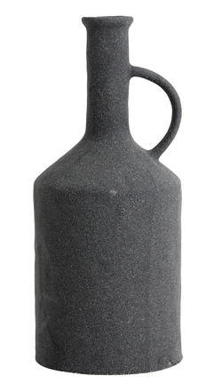 ELDEY pot bottle, dark grey - keramikk Grå - Nordal