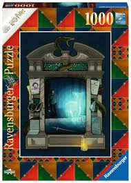Ravensburger Puslespel 1000b Harry Potter and the Deathly Hallows - Part 1 1000 bitar - Ravensburger