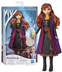 Frozen 2 Light up Fashion Doll, Anna med Lysende Kjole Leiker - Leiker