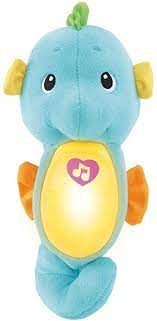 Fisher-Price Soothe & Glow Seahorse Blå - Leiker
