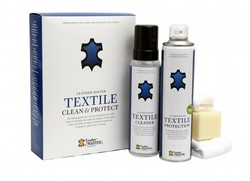 Textile Clean & Protect Kit Hvit - Leather Master