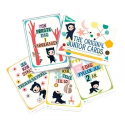 Milestone Junior kort multifarga - Milestone Cards