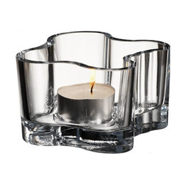 2 pk. Votive telysholder 55 mm  glass - Iittala