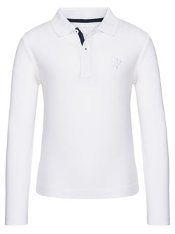 Nitulliver polo-genser Hvit - Name It