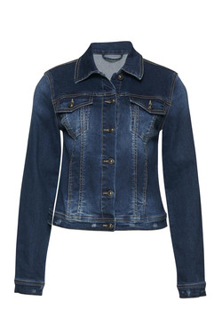 Sira denim jacket blå denim - Pulz