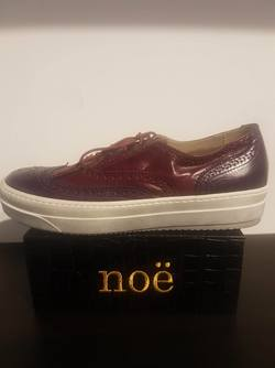 NENINE sneakers Burgundy red/ Malenzana - Noë