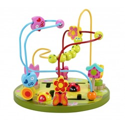 Classic - Labyrint Blomster - New Classic Toys