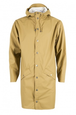 RAINS LONG JACKET KHAKI - RAINS