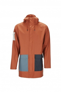 RAINS CAMP JACKET FLERFARGET - RAINS