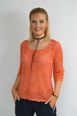 STEEAM knitted pullover Korall - Steeam