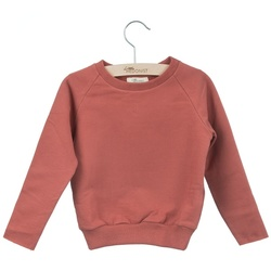 LITTLE HEDONIST SWEATER CECILIA UNI (BABY) BRICK - Little Hedonist
