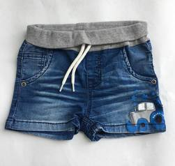 Nitajam shorts denim/grå - Name It