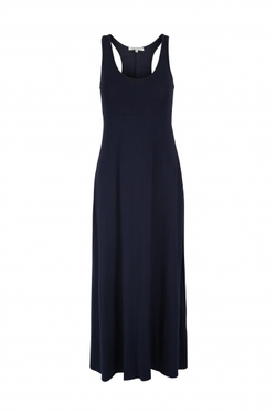 Long jersey dress  Navy - Haust Collection