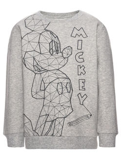 NITMICKEY Colt Sweatshirt Grå - Name It