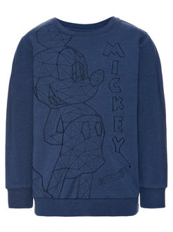 NITMICKEY Colt Sweatshirt Blå - Name It
